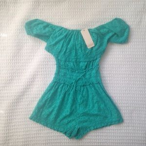 ale by Alessandra Pants - NWT Ale by Alessandra Ibiza off shoulder romper